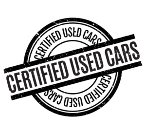 certified used car